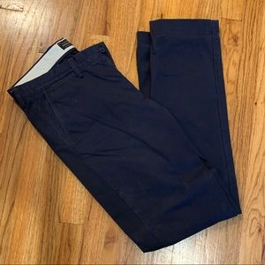Flat front broken in chinos size 32/34